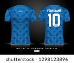 sports jersey template for team ...   Shutterstock .eps vector #1298123896