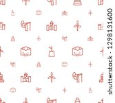 tower icons pattern seamless... | Shutterstock .eps vector #1298131600