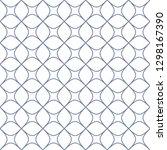 seamless monochrome interlaced...   Shutterstock .eps vector #1298167390