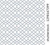 seamless monochrome interlaced...   Shutterstock .eps vector #1298167399