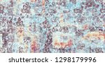 flora closeup abstract... | Shutterstock . vector #1298179996