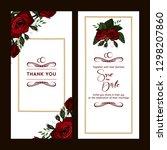 celebration postcard design... | Shutterstock .eps vector #1298207860