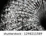 aluminum perforated foil pipe... | Shutterstock . vector #1298211589