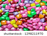 chewing gum with different... | Shutterstock . vector #1298211970