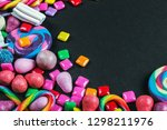 chewing gum  candy  chewing... | Shutterstock . vector #1298211976