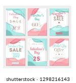 pack of six sale banner... | Shutterstock .eps vector #1298216143