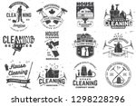 set of cleaning company... | Shutterstock .eps vector #1298228296