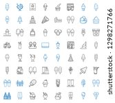 cone icons set. collection of... | Shutterstock .eps vector #1298271766