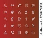 editable 25 freshness icons for ... | Shutterstock .eps vector #1298272030