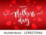 happy mother's day vector... | Shutterstock .eps vector #1298272966