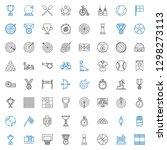 competition icons set.... | Shutterstock .eps vector #1298273113