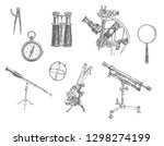 astronomical  mathematical and... | Shutterstock .eps vector #1298274199