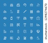 editable 36 kit icons for web...