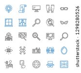 view icons set. collection of... | Shutterstock .eps vector #1298280526