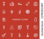 editable 22 nobody icons for...   Shutterstock .eps vector #1298281489