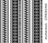 ancient maya tribal ethnic... | Shutterstock .eps vector #1298281960