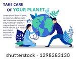 vector illustration in flat... | Shutterstock .eps vector #1298283130