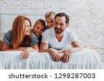 family relationship concept.... | Shutterstock . vector #1298287003