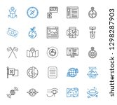 world icons set. collection of... | Shutterstock .eps vector #1298287903