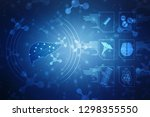 2d illustration human liver ...   Shutterstock . vector #1298355550