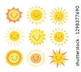 Sun Emoji. Funny Summer...