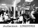 davos  switzerland   jan 24 ... | Shutterstock . vector #1298395903