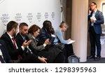 davos  switzerland   jan 24 ... | Shutterstock . vector #1298395963