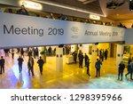 davos  switzerland   jan 24 ... | Shutterstock . vector #1298395966