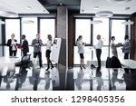 large business team from... | Shutterstock . vector #1298405356