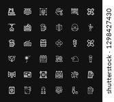 editable 36 company icons for... | Shutterstock .eps vector #1298427430