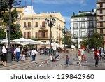 valencia  spain   october 10 ... | Shutterstock . vector #129842960