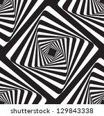 Optical Illusion Black And...