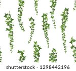 creeper green ivy. wall... | Shutterstock .eps vector #1298442196