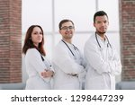 group of medical center doctors ... | Shutterstock . vector #1298447239