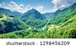 incredible view opens from the... | Shutterstock . vector #1298456209