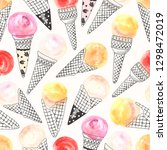 seamless pattern with...   Shutterstock .eps vector #1298472019