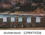 italy  portovenere  the old... | Shutterstock . vector #1298474206