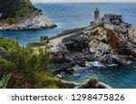 italy  portovenere  church of... | Shutterstock . vector #1298475826