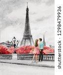 Painting Paris European City...