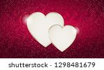 the valentine s day background... | Shutterstock .eps vector #1298481679
