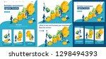 set template article  landing... | Shutterstock .eps vector #1298494393