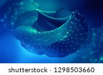big data and computer... | Shutterstock . vector #1298503660