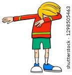 cartoon illustration of... | Shutterstock .eps vector #1298505463