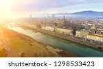 aerial. panorama of the city of ... | Shutterstock . vector #1298533423