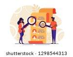 concept human resources ... | Shutterstock .eps vector #1298544313