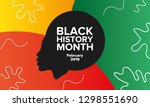 african american history or... | Shutterstock .eps vector #1298551690