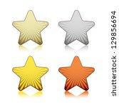 rating stars | Shutterstock .eps vector #129856694
