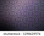 dark purple vector background... | Shutterstock .eps vector #1298629576
