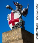 A Dragon Sculpture On London...