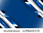 blue background with dotted... | Shutterstock .eps vector #1298645170